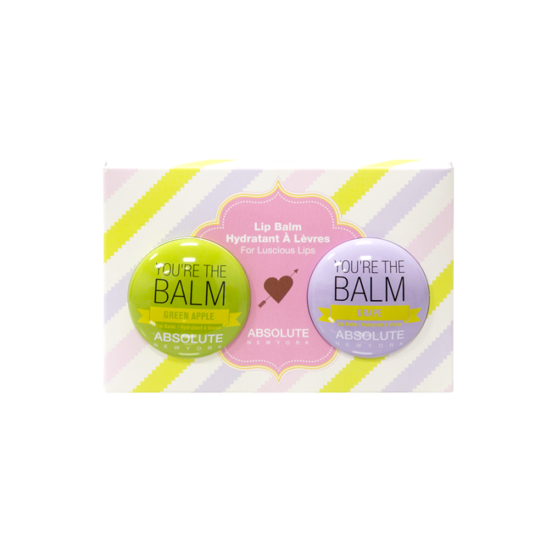 Duo Lip Balm - Youre The Balm (Green Apple + Grape)