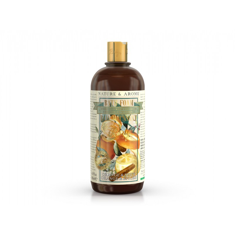 Orange & Spice Bath Foam 500ml