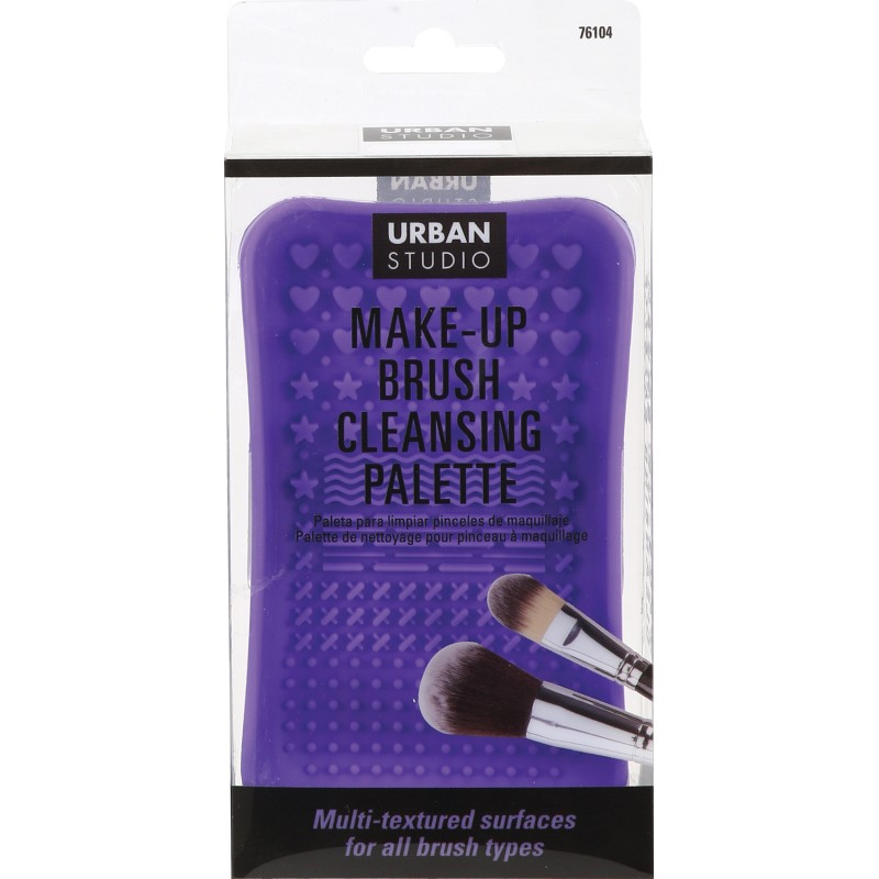 Brush Cleansing Palette - Purple