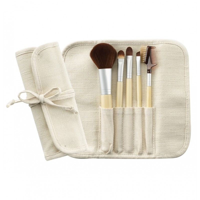 5-PC Bamboo Brush Set