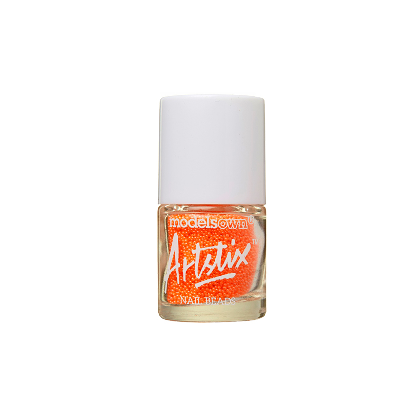 Artstix Nail Beads - Neon Orange
