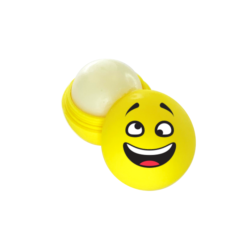 Emoticons Lip Balm - Silly Face