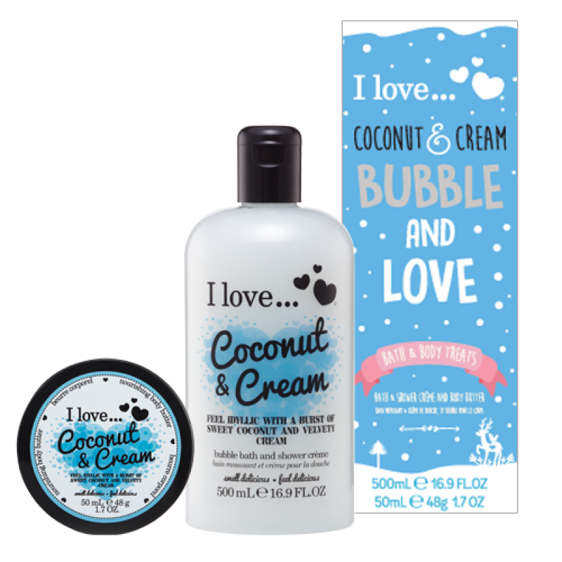 Bubble and Love Coconut & Cream