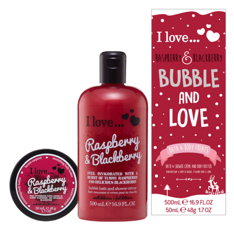 Bubble and Love Raspberry & Blackberry