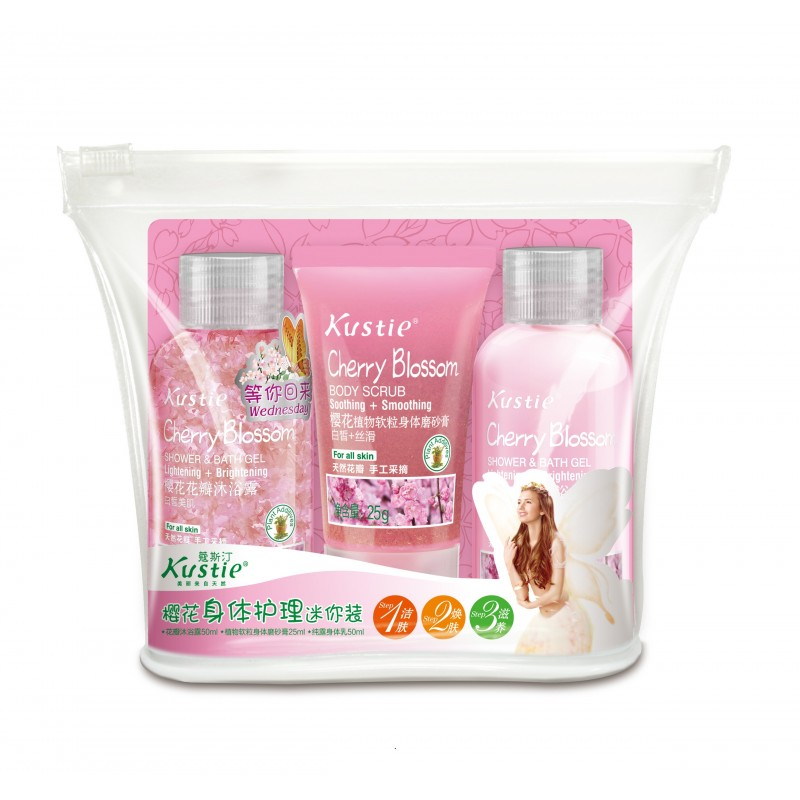 Cherry Blossom Body Care Mini Set