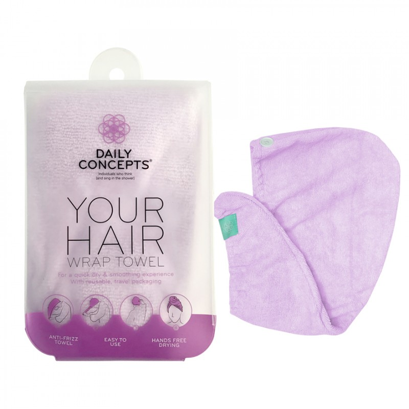 Your Hair Towel Wrap - Purple