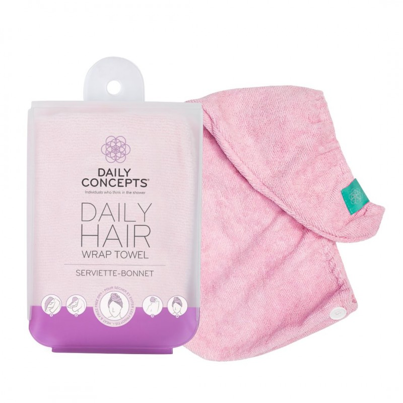 Your Hair Towel Wrap - Pink