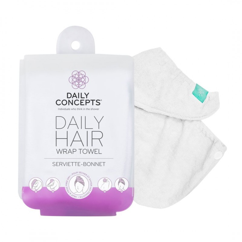 Your Hair Towel Wrap - White