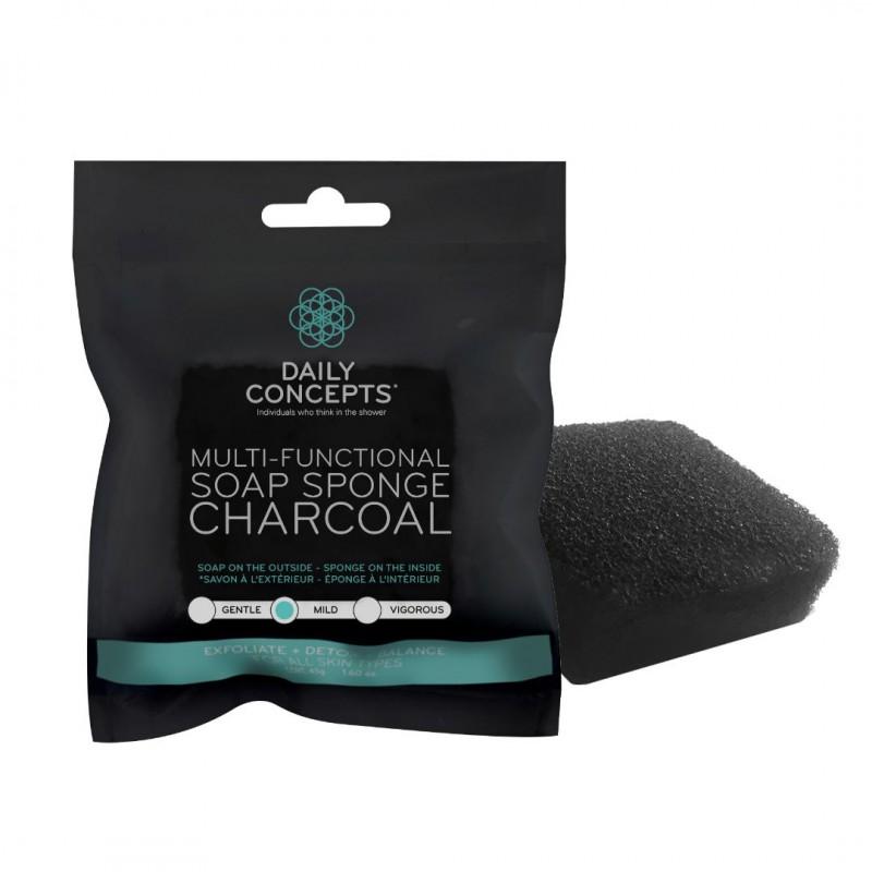 Charcoal Soap Sponge - Mini