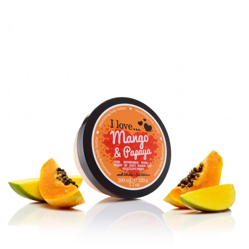 Body Butter Mango Papaya 200ml