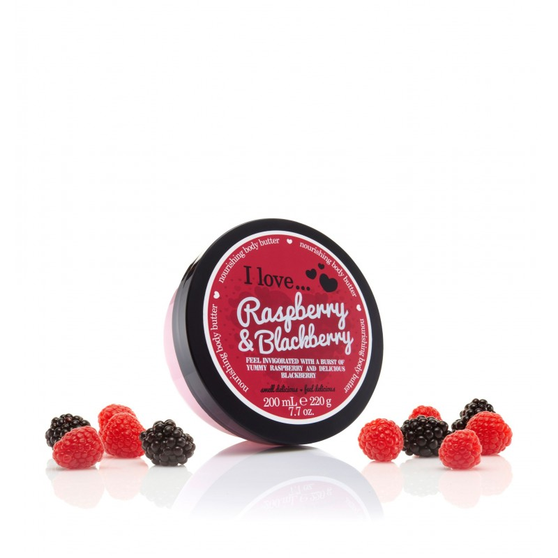 Body Butter Raspberry Blackberry 200ml