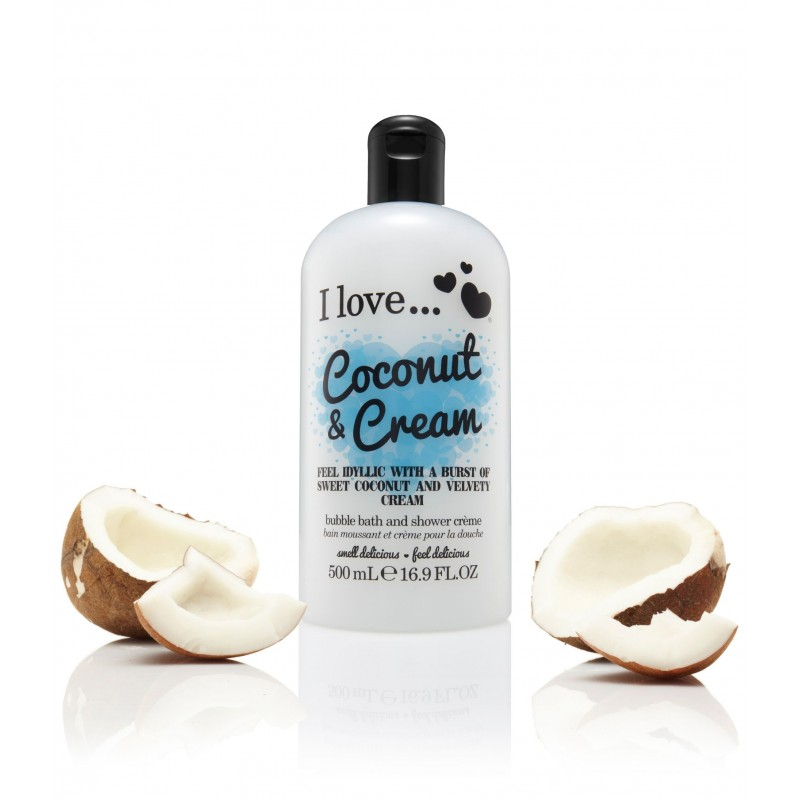 Coconut & Cream Bath & Shower Creme 500ml