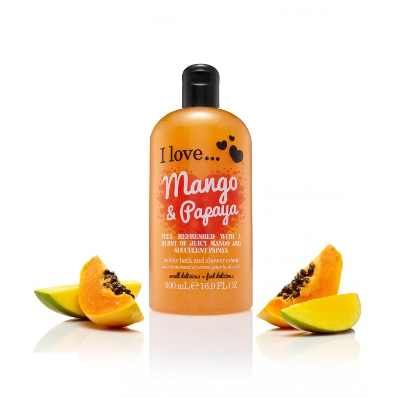 Mango & Papaya Bath & Shower Creme 500ml