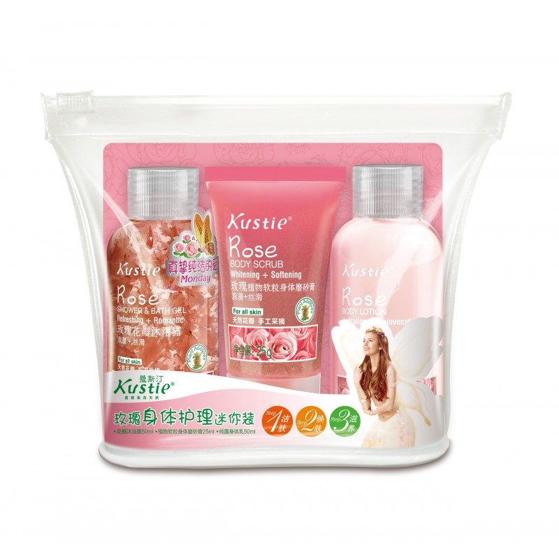 Rose Body Care Mini Set