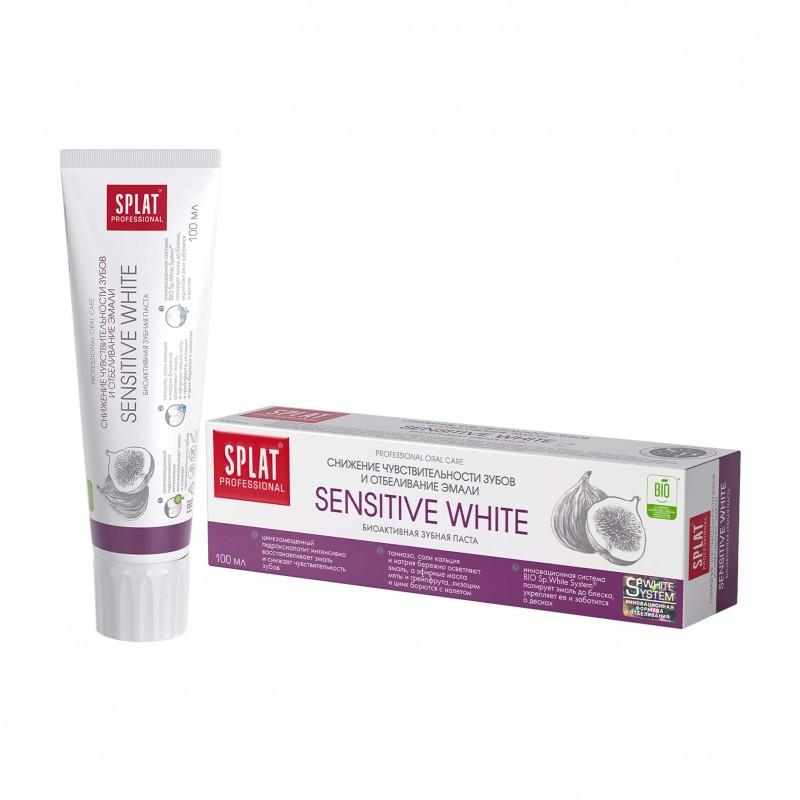 SPLAT Sensitive White Toothpaste 100ml