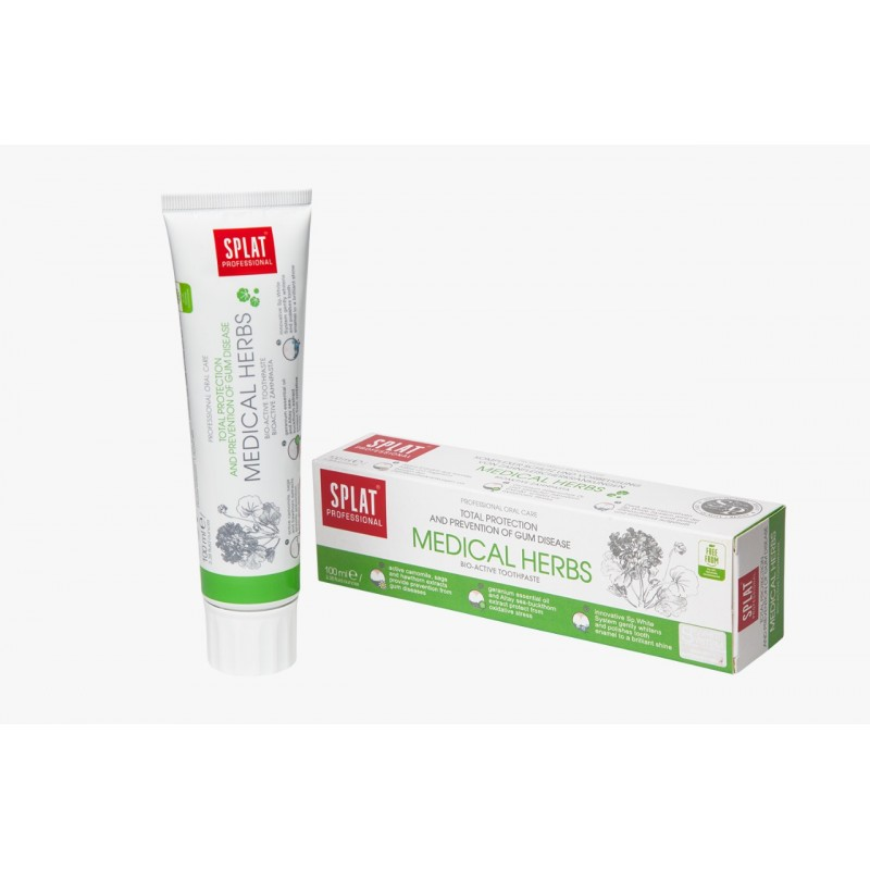 SPLAT Medical Herbs Toothpaste 100ml