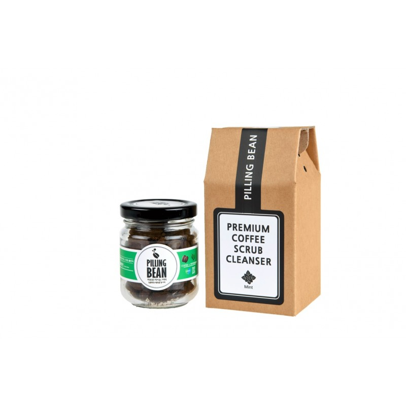 Coffee Facial Scrub 50g - Mint