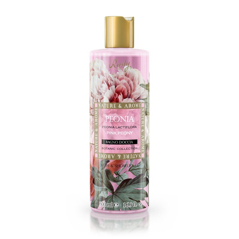 Nature & Arome Pink Peony Bath & Shower Gel 500ml