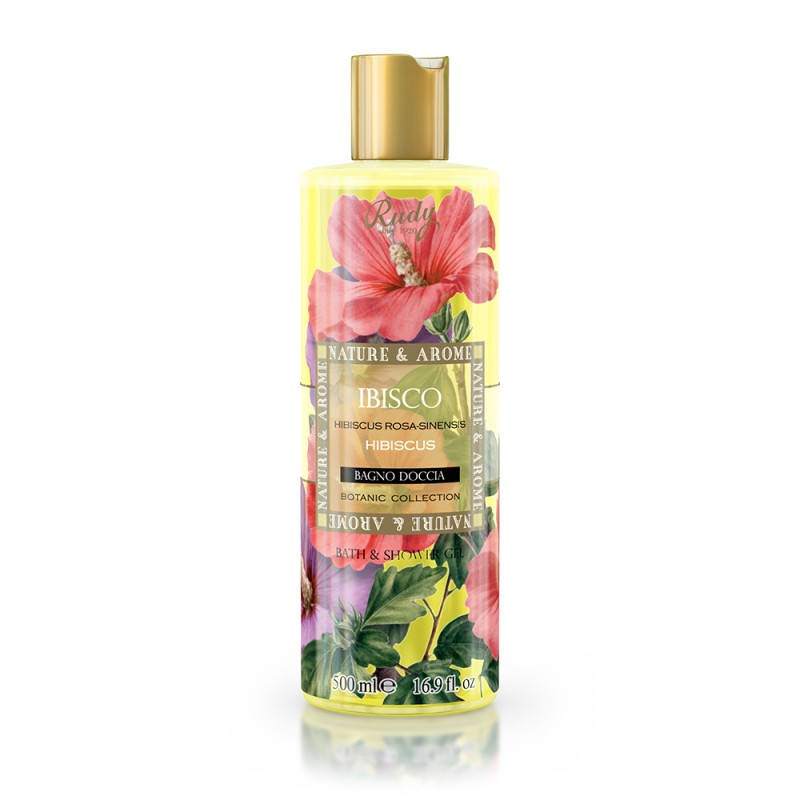 Nature & Arome Hibiscus Bath & Shower Gel 500ml