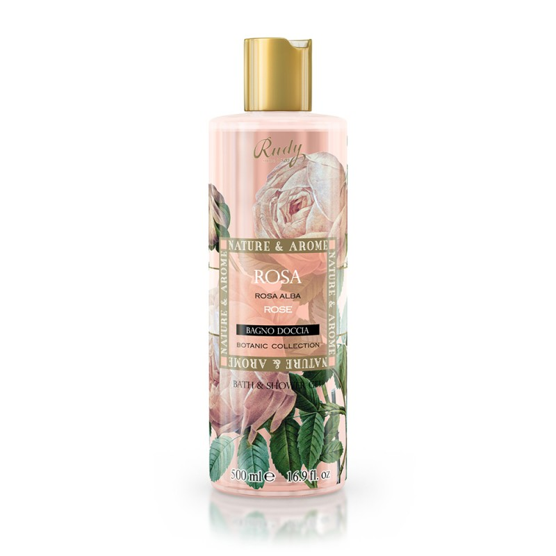 Nature & Arome Rose Bath & Shower Gel 500ml
