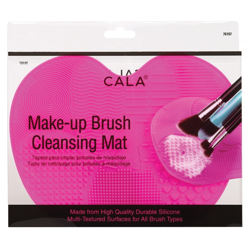 Brush Cleansing Mat - Hot Pink