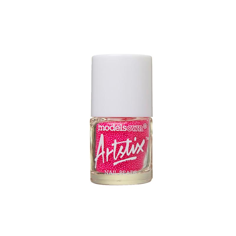 Artstix Nail Beads - Neon Pink