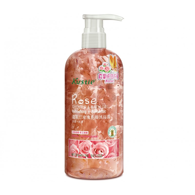 Rose Shower & Bath Gel 720ml