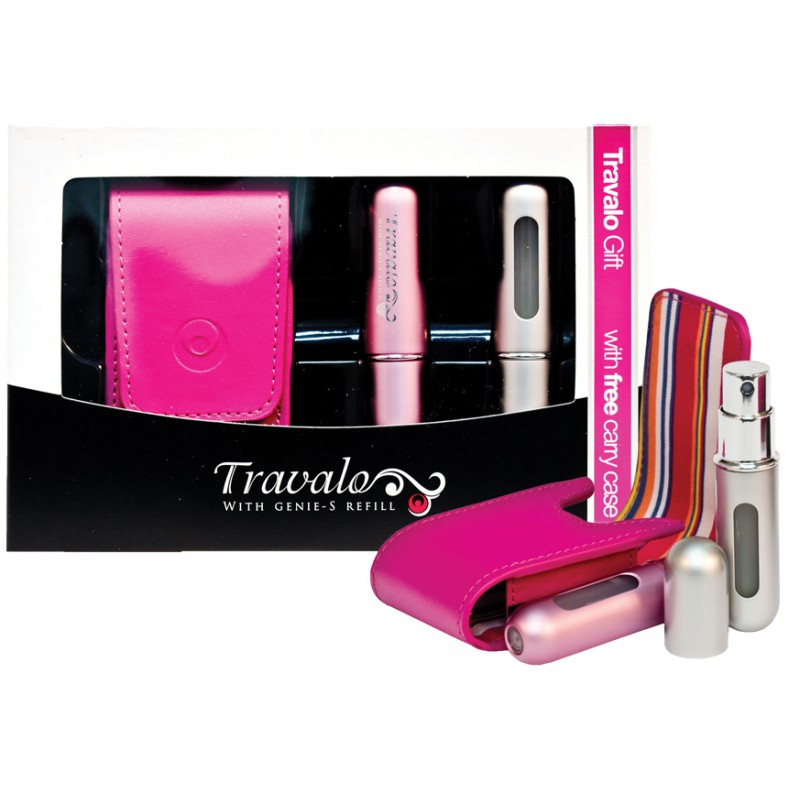 Classic Excel 5ml Gift Set (Pink Case)